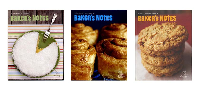 Baker's Notes三冊セット(used)