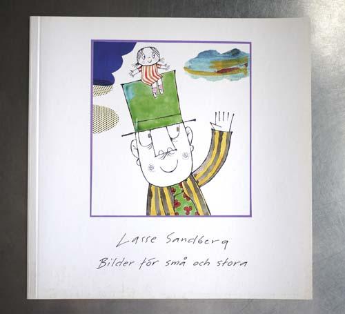 Lasse Sandberg ラッセ・サンドベリ図録  (スウェーデン語)