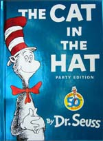 the cat in the hat 生誕50周年記念バージョン 洋書