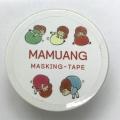 マムアンちゃんマスキングテープ Ball game