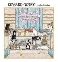 Edward Gorey 2018 Calendar ,ゴーリー,カレンダー,2018