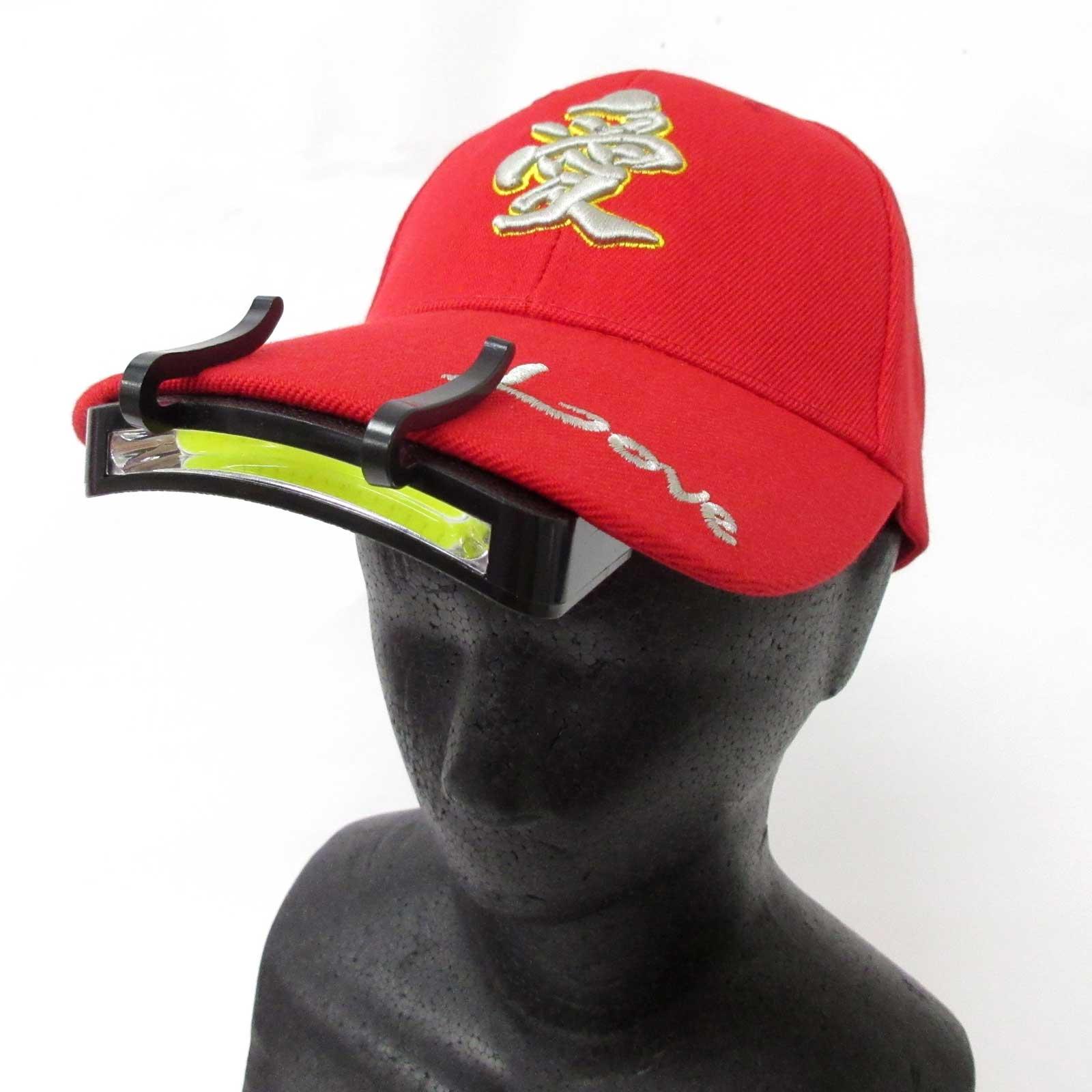 帽子につけるLEDライト 16Super LED 連続照射時間約8時間 ハンズフリーで軽作業に便利 キャンプ アウトドア レジャー 非常災害時にも役立つ