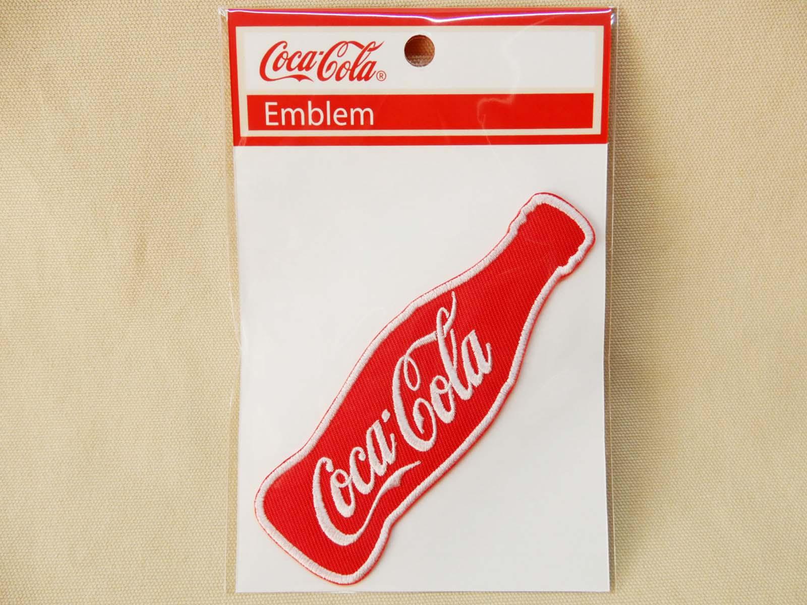 Coca-Cola★CC-E9★コカ・コーラ ワッペン★EMBLEM☆Coca-Cola ボトル /コカ・コーラ