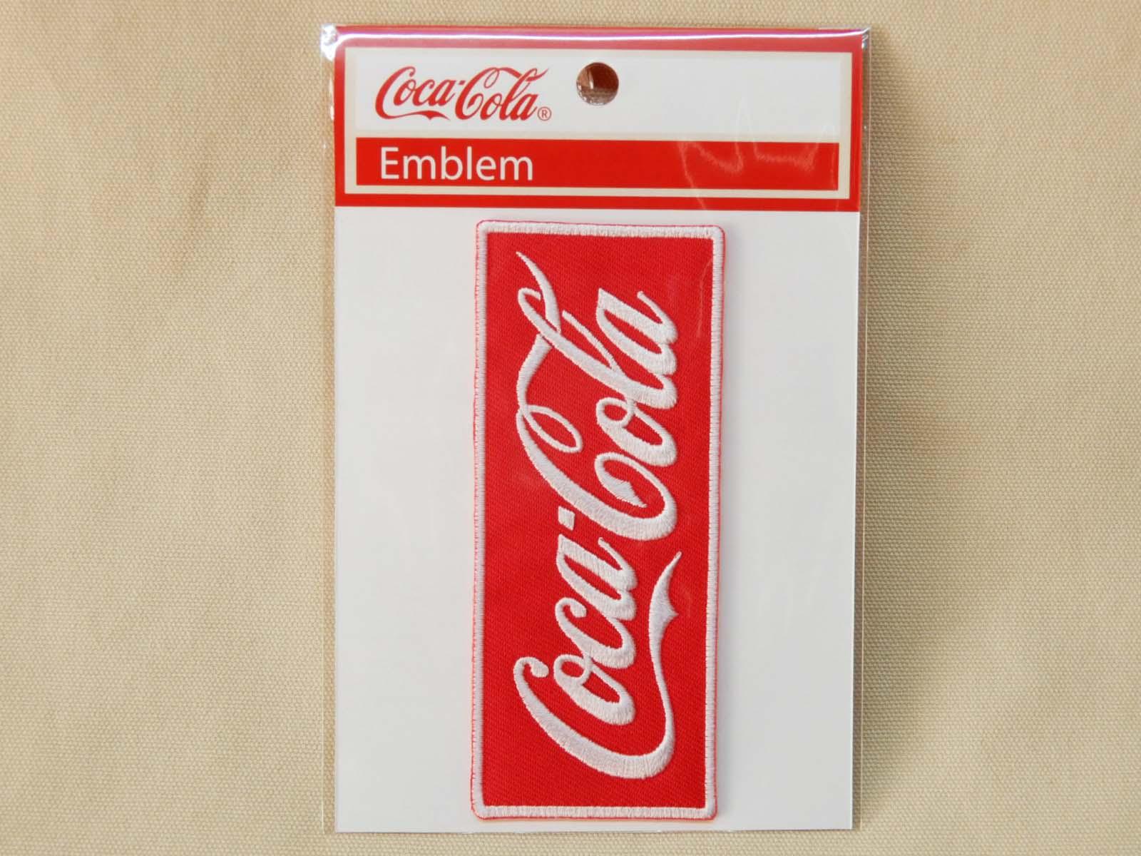Coca-Cola★CC-E6★コカ・コーラ ワッペン★EMBLEM☆Coca-Cola /コカ・コーラ