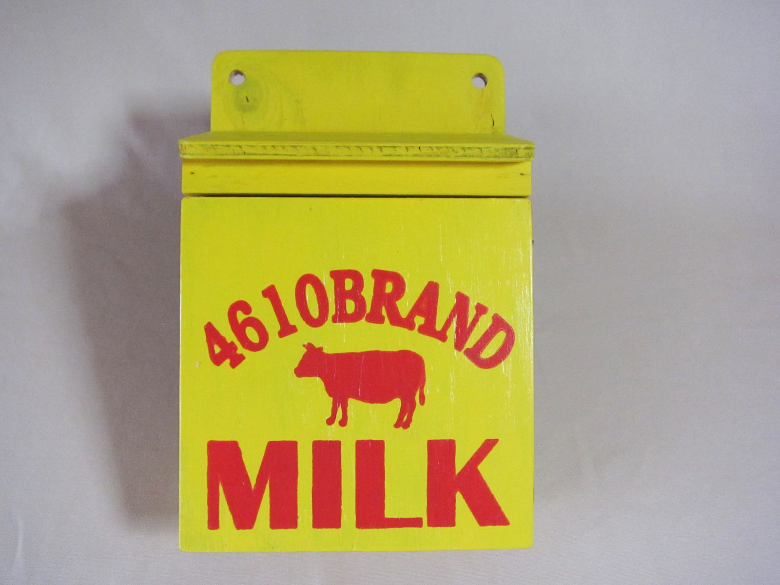 牛乳箱風キーボックス 4610BRAND MILK