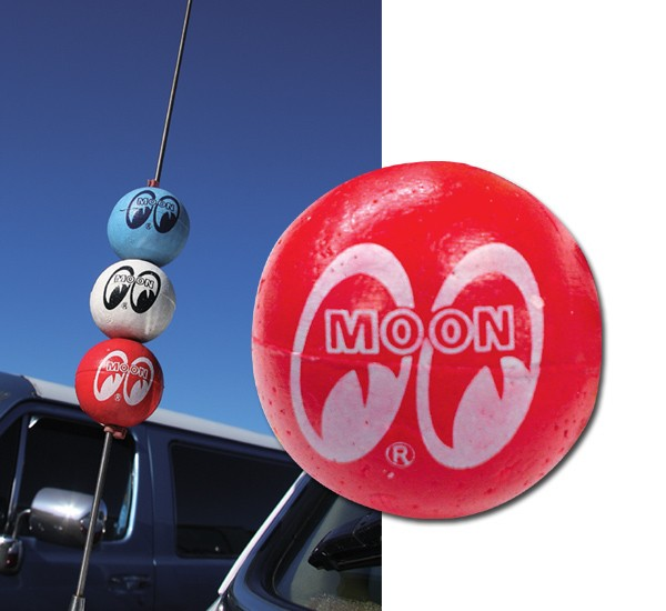 MG015RD☆ムーンアイズ アンテナボール レッド ☆MG015RD☆MOON Antenna Ball RED