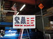 大売出し?USA柄のSALE FLAG 3x5ft ★アメリカ柄のセールフラッグ [並行輸入品]