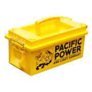 使い方は自由な樹脂製アーモボックス 弾丸ケース U.S.AMMO BOX YE PACIFIC POWER アメリカンスタイル アーモボックス 収納 工具箱 ストックボックス 弾丸ケース アメリカ 積み重ね可能
