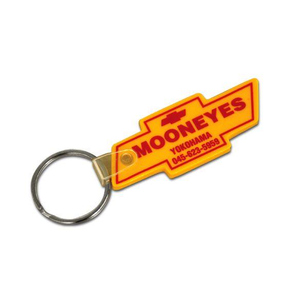☆MKR019☆ムーン ボウタイ キーリング☆MKR019☆MOON BOWTIE Key Ring