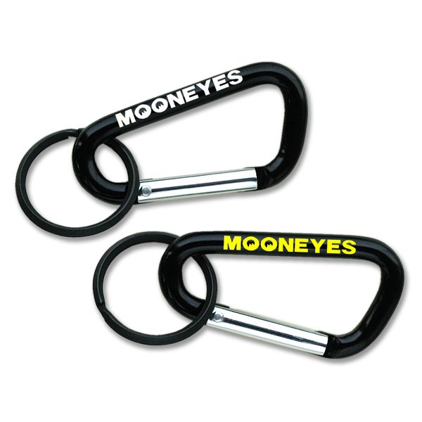 ☆MKR065☆ムーンアイズ カラビナ キーリング Mサイズ ☆MKR065☆MOONEYES Carabine Key Rings M size