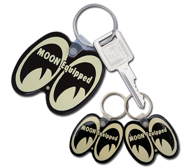 ☆MKR113☆ムーン イクイップド キーリング☆MKR113☆MOON Equipped Key Ring