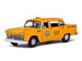サンスター 1:18スケール 1981y ロス アンジェルス タクシー チェッカーキャブ ★1981 Los Angeles Taxi Cab Checker 1/18 Diecast Model Sunstar [並行輸入品]