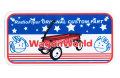 WagonWorld★USA BIKE PLATE SIZE★バイクプレート☆WagonWorld