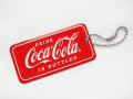 Coca-Cola★CC-SPKC1★コカ・コーラ ライセンスプレートキーチェーン★LICENSE PLATE KEYCHAIN☆Coca-Cola /コカ・コーラ