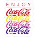Coca-Cola★CC-BA66★コカ・コーラ ステッカー★ Coca-Cola/コカ・コーラ