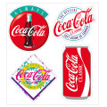 Coca-Cola★CC-BA67★コカ・コーラ ステッカー★ミニステッカー4枚バリューセット Coca-Cola/コカ・コーラ