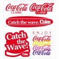 Coca-Cola★CC-BA69★コカ・コーラ ステッカー★ミニステッカー5枚バリューセット Coca-Cola/コカ・コーラ