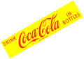 Coca-Cola★CC-BS2★コカ・コーラ ステッカー★DRINK Coca-Cola IN BOTTLES/ドリンクコカ・コーラ インボトルズ