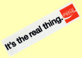 Coca-Cola★CC-BS3★コカ・コーラ ステッカー★It's the real thing. Coca-Cola/コカ・コーラ
