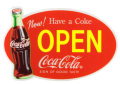 Coca-Cola★CC-SS2★コカ・コーラ ショップステッカー★SHOP Coca-Cola/コカ・コーラ