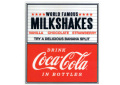 Coca-Cola★CC-SSD2★コカ・コーラ ダイナーステッカー★DINER Coca-Cola/コカ・コーラ