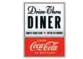 Coca-Cola★CC-SSD3★コカ・コーラ ダイナーステッカー★DINER Coca-Cola/コカ・コーラ