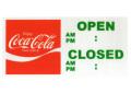 Coca-Cola★CC-SSJ3★コカ・コーラ OPEN/CLOSEDステッカー★OPEN/CLOSED Coca-Cola/コカ・コーラ