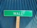 アメリカ ストリートサイン WALL ST レプリカサインプレート USA LA カリフォルニア 通り名 住所表記 標識