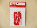 Coca-Cola★CC-E8★コカ・コーラ ワッペン★EMBLEM☆Enjoy Coca-Cola 缶 /コカ・コーラ