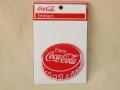 Coca-Cola★CC-E7★コカ・コーラ ワッペン★EMBLEM☆Enjoy Coca-Cola 王冠 /コカ・コーラ