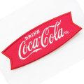 Coca-Cola★CC-E2★コカ・コーラ ワッペン★EMBLEM☆DRINK Coca-Cola /フィッシュテール コカ・コーラ