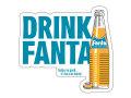 Fanta☆F-S6☆ファンタ☆Fanta Sticker ファンタステッカー ファンタオレンジ ファンタグレープ