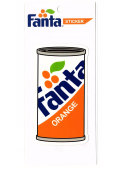 Fanta☆FA-ST24☆ファンタ☆Fanta Sticker ファンタステッカー ファンタオレンジ ファンタグレープ
