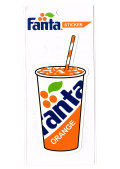 Fanta☆FA-ST25☆ファンタ☆Fanta Sticker ファンタステッカー ファンタオレンジ ファンタグレープ