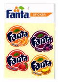 Fanta☆FA-ST30☆ファンタ☆Fanta Value Sticker ファンタ バリュー ステッカー ファンタオレンジ ファンタグレープ