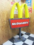 アメリカのマクドナルドで使用されていた『ドライブスルーサイン』★本物【ジャンク扱い】