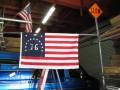 建国記念!76 USA FLAG 3x5ft ★ビンテージスタイル 76アメリカ国旗 13州 13スター [並行輸入品]