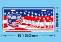 シロウトモータース フォルクスワーゲン部 プレートステッカー☆シロウトモータース 4610MOTORS  4610motors