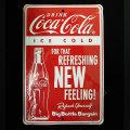 Coca-Cola★CC-SP1★コカ・コーラ ストアーサイン★STORE SIN PLATE Coca-Cola /コカ・コーラ