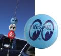 MG015LB☆ムーンアイズ アンテナボール ライトブルー☆MG015LB☆MOON Antenna Ball LB