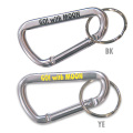 ☆MKR064SL☆ゴー!ウィズ ムーン ビッグ カラビナ キーリング LサイズSL ☆MKR064SL☆Go! With MOON Big Carabiner Key Ring L-sizeSL