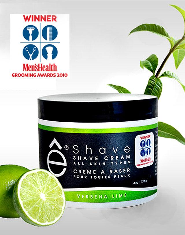 e-shave イーシェーブ シェービングクリーム バーベナライム シリーズ
