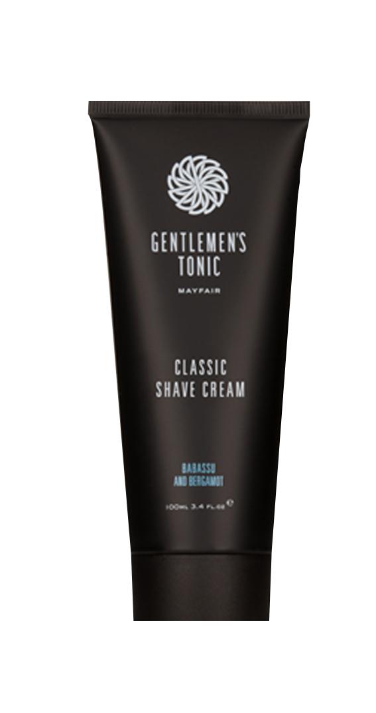Gentlemen's Tonic クラシックシェーブクリーム