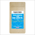 【Organic Nation 100%天然素材抽出】 SUPER EPA&DPA+DHA タラの肝油 (Cod Liver Oil) 90カプセル