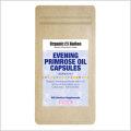 【Organic Nation 100%天然素材抽出】 月見草油 (Evening Primrose Oil) カプセル γ-リノレン酸 90カプセル3個セット 栄養医学研究所開発検定品
