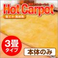 【電磁波99%カット】 ホットカーペット 3畳用本体 ZCB-30K