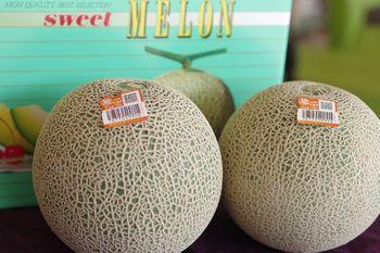 旭村クインシーメロンお取り寄せ販売 茨城産 糖度の見えるメロンを通販で。果物ギフトに 糖度16度 特秀 2玉