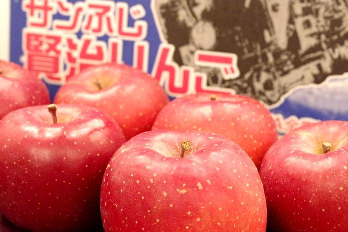 賢治りんご通販 岩手サンふじお歳暮販売 糖度14度以上 JAいわて花巻 中箱 約7玉~約9玉