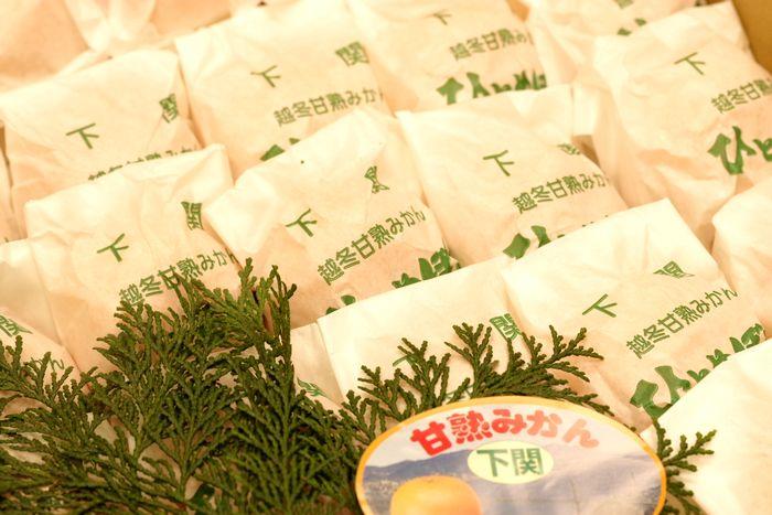 ひとめぼれみかん販売 山口県下関越冬甘熟みかんを通販で取り寄せ 約4kg 2S〜M 約45玉〜約60玉