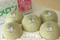旭村アンデスメロン通信販売 茨城産。糖度の見えるメロンを販売。果物ギフトに 糖度14度 秀品 約5kg 4玉〜6玉